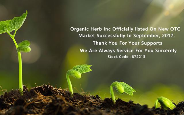 Organic Herb Inc